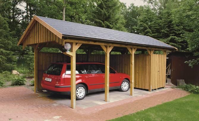 Carport, Carports, Enkelcarport, Dubbelcarport, Carport Premium