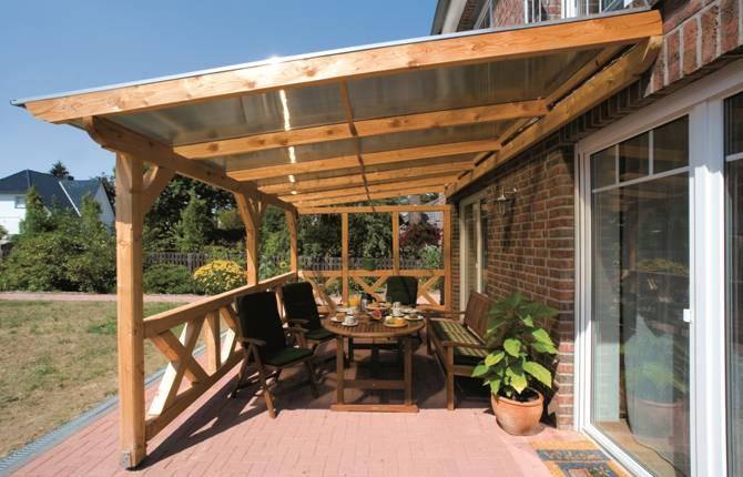 Terrasoverkapping houten terrasoverkapping terrasoverkappingen soho - Inrichting van het terras ...